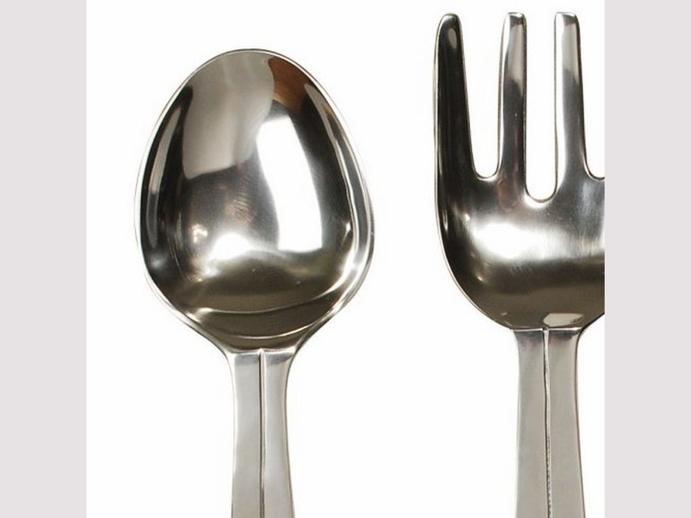 Metal Cutlery Set Wall Hanging. U0027